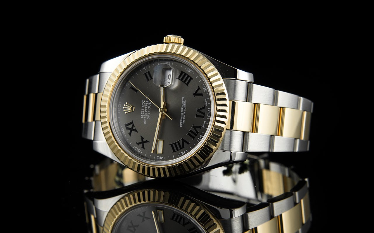 Rolex Oyster Perpetual Datejust II Rolesor