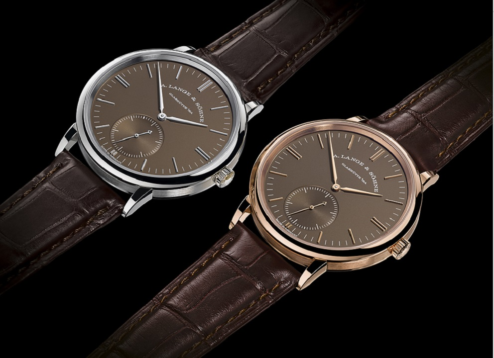 A. Lange & Söhne SAXONIA Automatic with Terra Brown dials